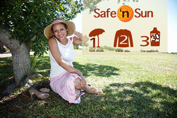 SLUCare Dermatology Safe 'n Sun steps to protech your skin