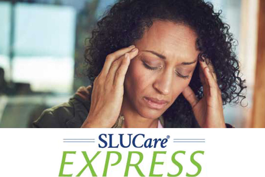 Woman With Headache - SLUCare Express