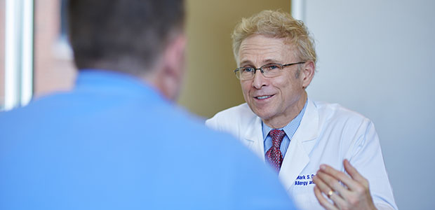 Pictured: Dr. Mark Dykewicz, SLUCare Allergy & Immunology