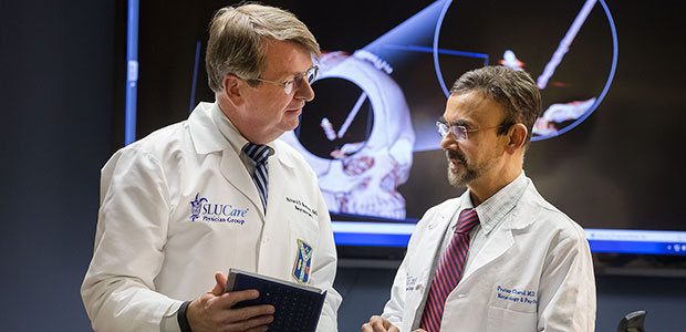 Pictured: Drs. Richard Bucholz and Pratap Chand