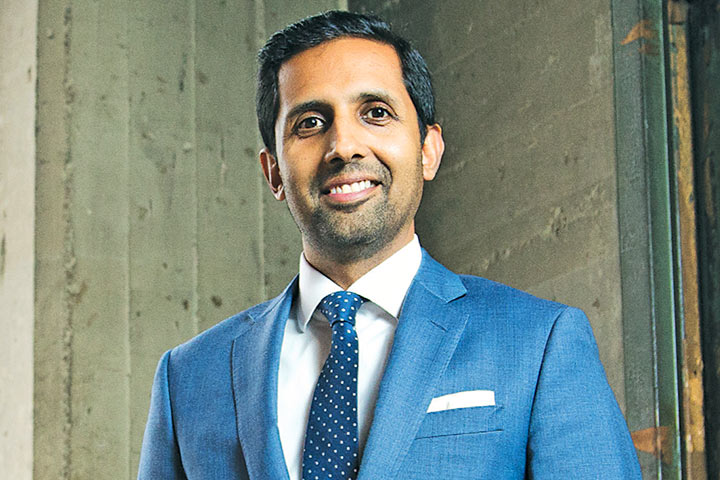 Dr. Sameer Siddiqui Named to 40 Under 40 List