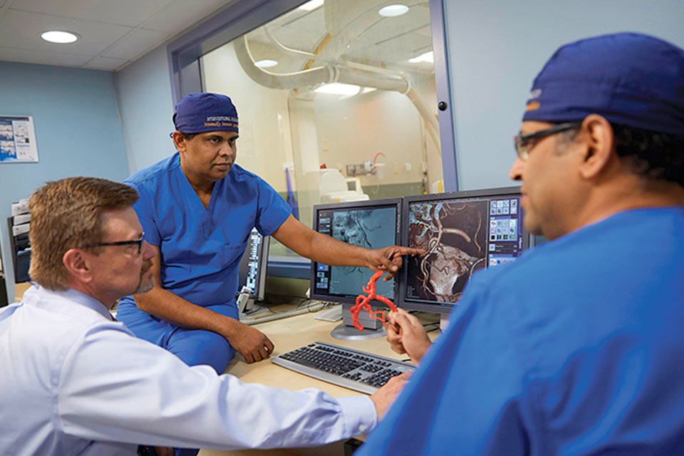 SLUCare Interventional Radiologists discuss BPH case