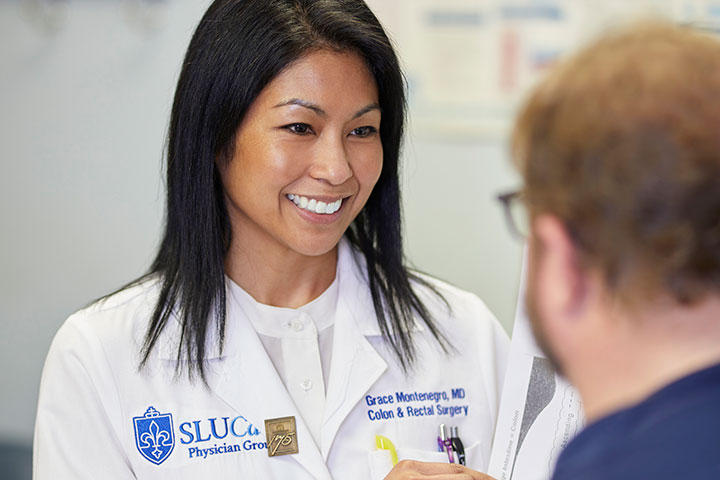 SLUCare Colorectal Surgeon Dr. Grace Montenegro
