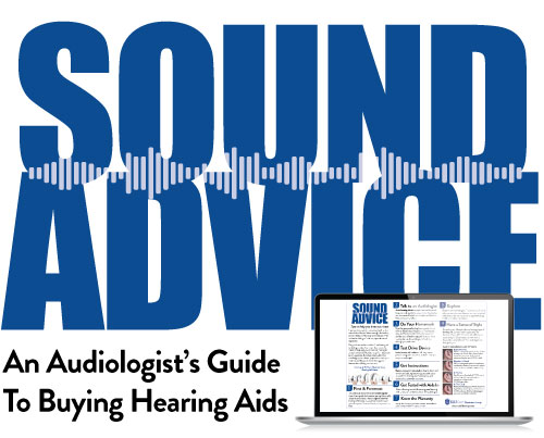 Sound Advice guide to buying hearing aids