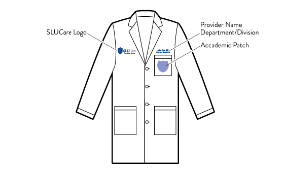Lab Coat Element Diagram
